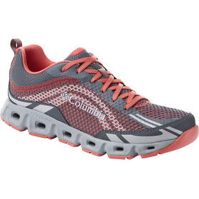 Columbia Drainmaker IV - Chaussures Femme - gris/orange